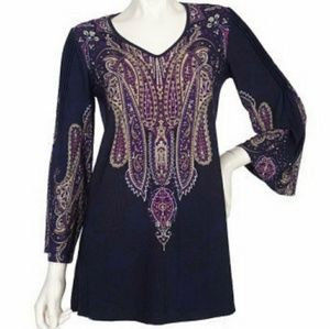 💋🌸 Effortless Style citiknits tunic S
